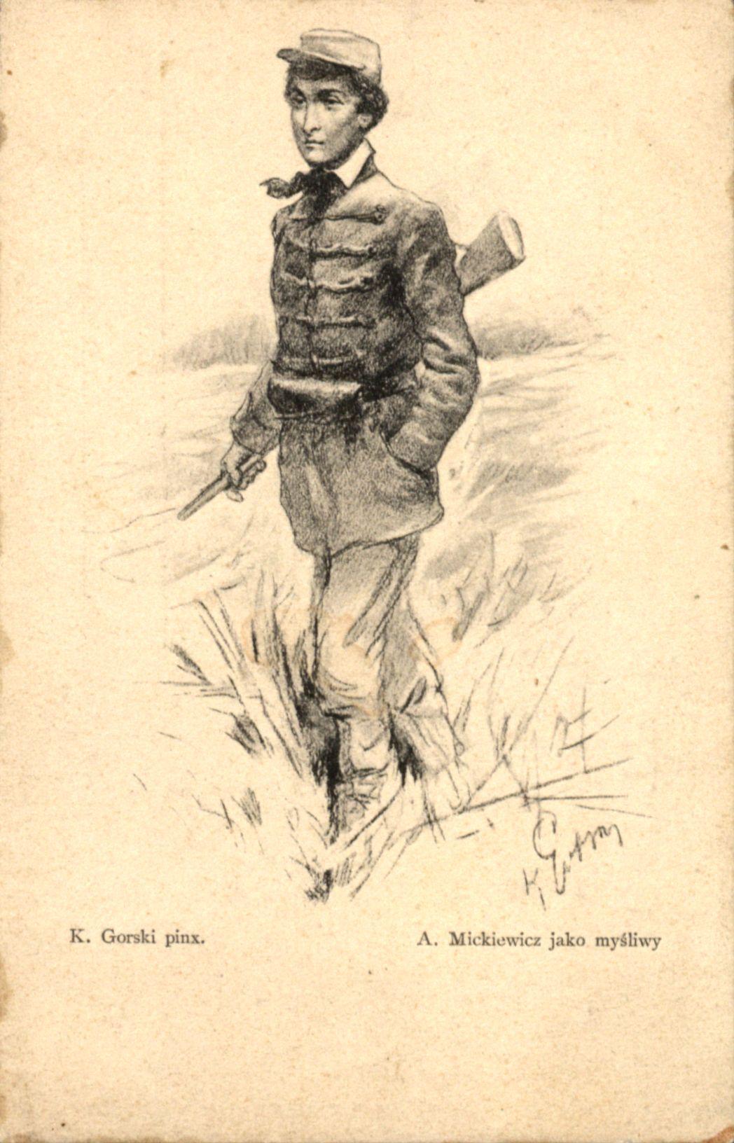 Dlibra Digital Library Adam Mickiewicz Jako Mysliwy